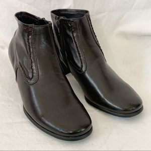 🆕 RINALDI / Brown Leather Ankle Boots - Size 37